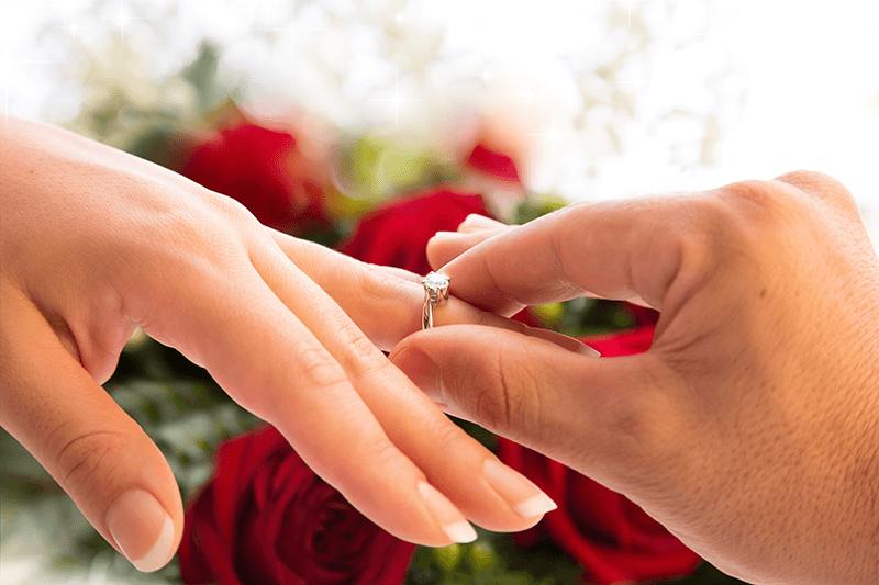 男性が婚約指輪を選ぶなら