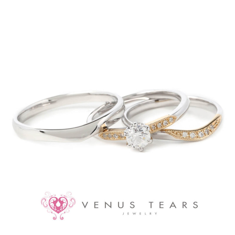 銀座・柏・直方の結婚指輪Set Ring(セットリング)_02