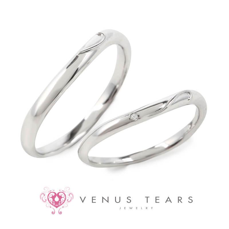 銀座・柏・直方の結婚指輪VENUS TEARS Marriage Ring(ヴィーナスティアーズ マリッジリング)_02