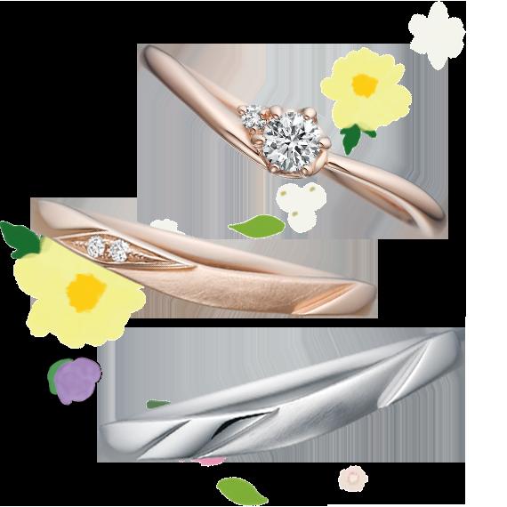 銀座・柏・直方の結婚指輪Disney Tangled(塔の上のラプンツェル)_03