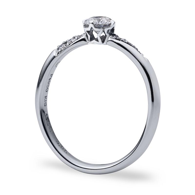 銀座・柏・直方の婚約指輪星の砂_02